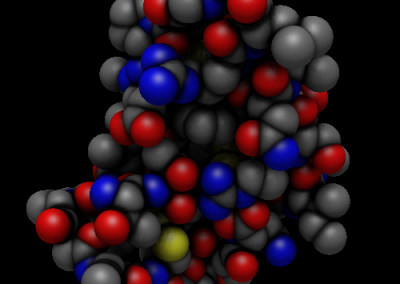 Avogadro 2 showing ambient occlusion rendering